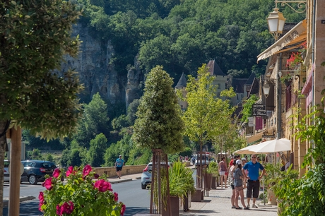 La Roque Gageac en Dordogne - Village Classé plus beaux villages de France