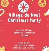 Village de Noël Christmas party