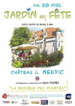 Jardin en Fête au Château de Neuvic 2019